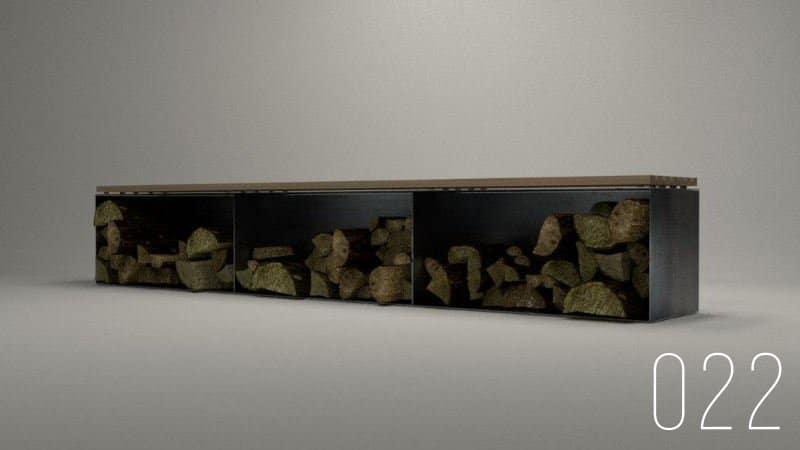 kaminholzaufbewahrung-brennholz-bank-metall-holz-design-metallmoebel-stahlmoebel-innen-außen