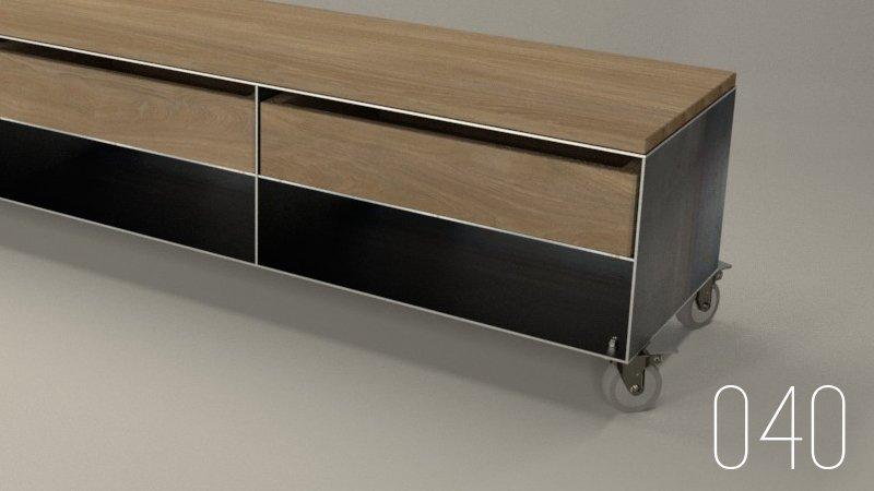 tv-sideboard-lowboard-eiche-design-auf-rollen-metall-stahl-mit-schublade-kaminholzregal-040