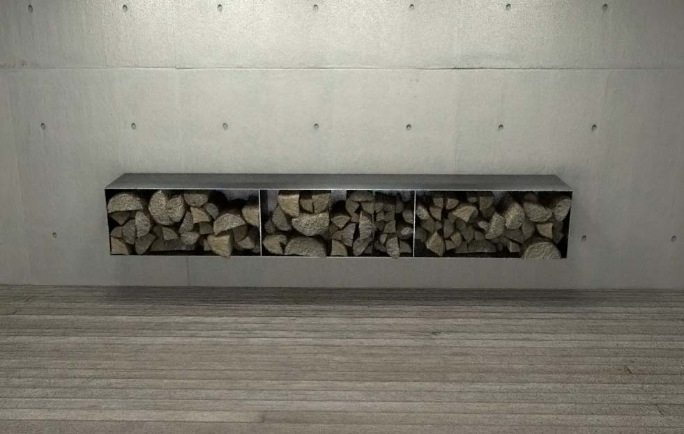 Brennholzregal wohnzimmer design  stahlzart-design-moebel-bestseller | Metallcarport Stahlcarport ...