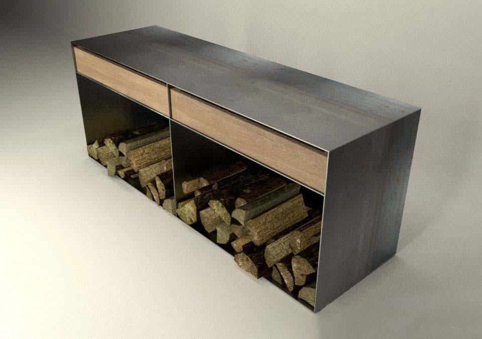 kaminholzregal f r wohnzimmer kaminholzregal wohnzimmer ber ideen zu kaminholzregal auf. Black Bedroom Furniture Sets. Home Design Ideas